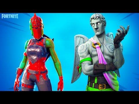 New Fortnite Skins Winter Variants The Goblin Video
