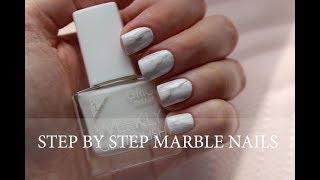Νύχια Μάρμαρο Βήμα - Βήμα | Marble Nail Art Tutorial
