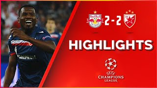 UEFA CHL / PLY OFF / FCSAL-FKCZV 2:2