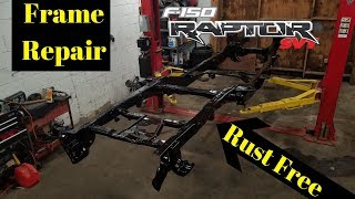 Rebuilding a Wrecked 2011 Ford Raptor SVT bought from Copart Part 6