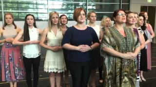 The Sound Of Music Media Rehearsal: The Nuns
