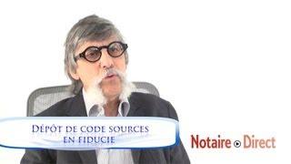 Dépôt de code sources en fiducie