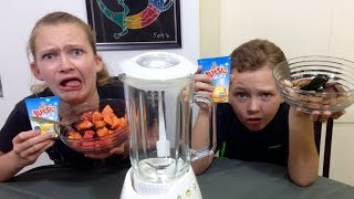 The Smoothie Challenge! | Gross Challenges | Brother Vs. Sister