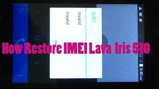 IMEI Repair of Lava Z60 E / IMEI repair of MTK/mediatek