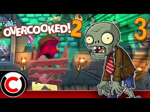 Overcooked! 2 (Hangry Horde DLC): Attack Of The Killer Bread - #3 - Ultra Creepy