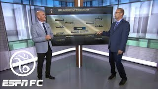 Stewart Robson predicts the group stage, knockout rounds at 2018 World Cup in Russia   ESPN FC