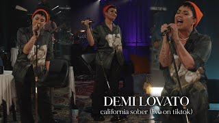 Demi Lovato - California Sober (Live)