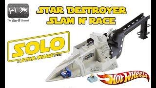 Solo: A Star Wars Story | Hot Wheels Battle Rollers Star Destroyer Slam & Race | The Dan-O Channel