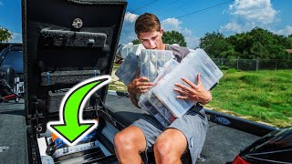 The BEST Fishing Tackle Organization Method