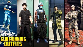 GTA Online FASHION FRIDAY GUNRUNNING EDITION! (20+ Awesome Military Outfits)