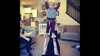 HILARIOUS GYMNASTIC TODDLERS LIVE FEED