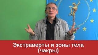 Экстраверты и зоны тела (чакры) | Валентин Ковалев