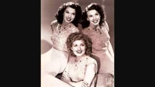 The Dinning Sisters - San Antonio Rose (c.1942).