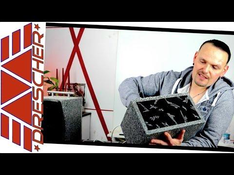 Mobile Lautsprecher selber bauen 2 x 30W ; BLUETOOTH , Anleitung , Tutorial