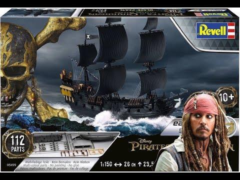 Black Pearl by Revell 1/150 / Full Build