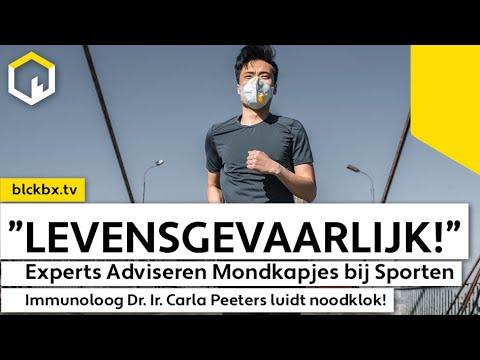 """""""Dit kan fataal aflopen!"""", zegt Immunoloog. Experts Adviseren Mondkapjes bij Sporten."""