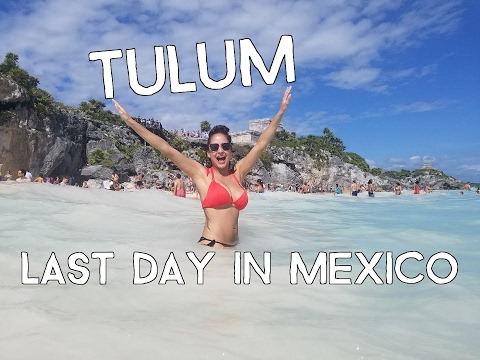 Tulum Mayan Ruins by Cancun Mexico