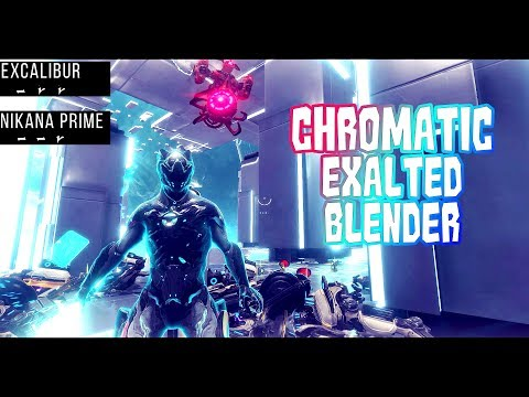 Warframe - Excalibur | Chromatic Exalted Blender | Excalibur Augment Mod | 2000 Glyph Giveaway!