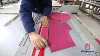 Richpeace Automatic Sewing Machine - Sew Zipper on Garment