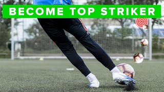 3 finishing drills you can do alone | Football Skills