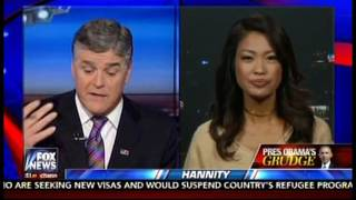 Hannity And Malkin Whine That Obama Is A Meany To Trump