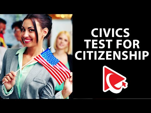 US Citizenship Practice Test: Questions and Answers - YouTube