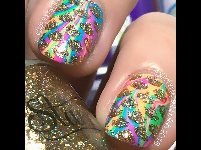 Sparkly-rainbow-watermarble-mermaid