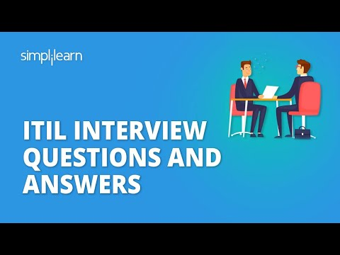 ITIL Interview Questions And Answers | ITIL Foundation Certification ...