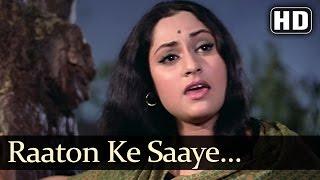 Raaton Ke Saaye - Jaya Bhadhuri - Annadata - Lata