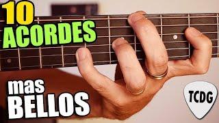 Top 10 ACORDES MAS BELLOS Para Guitarra   Suenan Increíble!