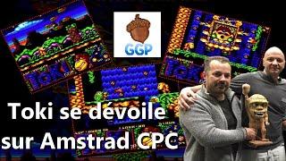 2019-12-28 Toki se dévoile sur Amstrad CPC avec la version Beta et son Premier Niveau du jeu