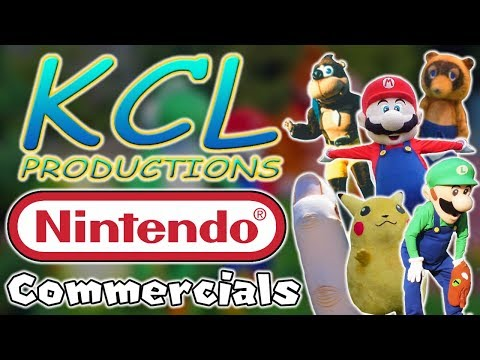 The History of Nintendo's Mascot Costume Commercials - KCL Productions Collection (1999-2013)