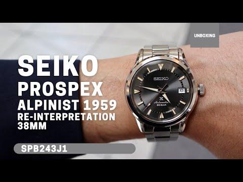 Seiko Prospex Alpinist 1959 Re-Interpretation Automatic Grey Dial Bracelet Watch SPB243J1