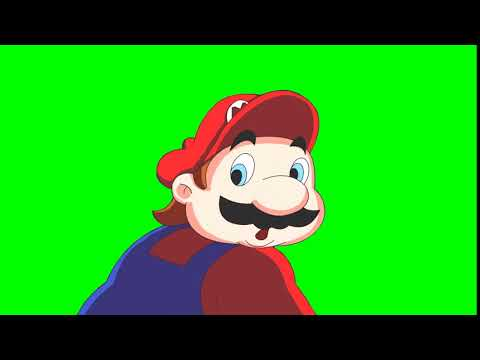 Hotel Mario - No! HD (Green Screen Footage)