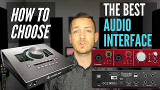 3.Choosing The Best Audio Interface