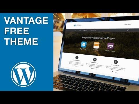 Vantage - A Free WordPress Theme from SiteOrigin