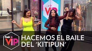 Carolina Sandoval pone a todos a hacer el Kitipun de Juan Luis Guerra