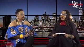 Dr. Eunice Gwanmesia appearance on AfroUSA TV with LadyKate Atabong Ndi