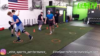 Single Leg Jumps (Working Power + Balance)