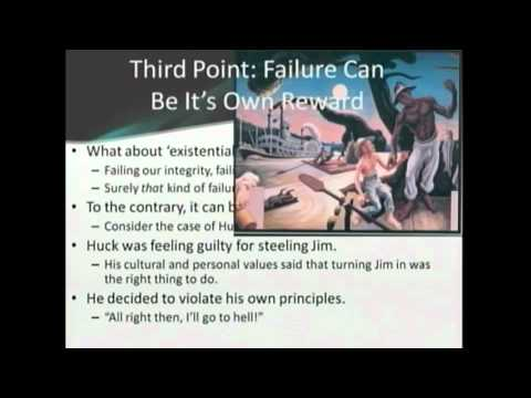 In Praise of Failure (or