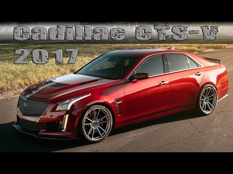 "2017 Cadillac CTS-V Wears ""FF04 Liquid Metal"" Wheels From HRE Performance"