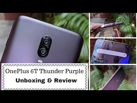 OnePlus 6T Thunder Purple: Unboxing and Review