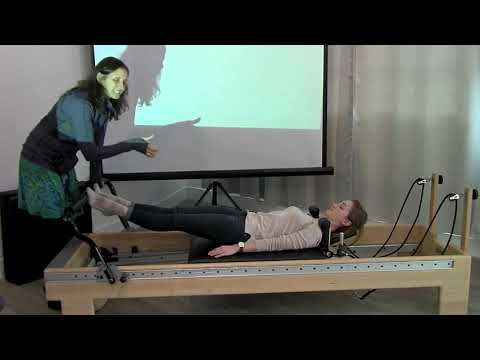 Pilates for rehab certification course - Lumbar spine - YouTube