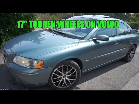 "Volvo S60 With Custom Touren 17"" Wheels"