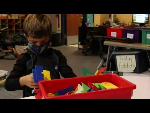 Clarkston students begin gradual return to in-person school