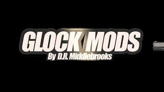 Glock Pistol Frame Modifications By DR Middlebrooks  Glock Stippling & Customizing