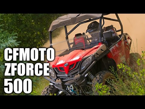 2017 CFMOTO ZForce 500 HO Trail EPS in Monroe, Washington