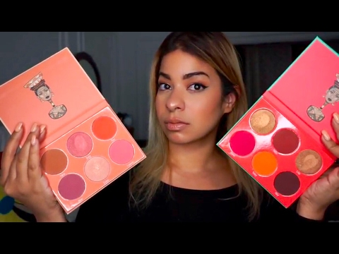 FIRST IMPRESSION – NEW JUVIA'S PLACE SAHARAN BLUSH PALETTES REVIEW