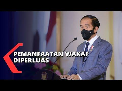 Jokowi Sebut Potensi Pemanfaatan Wakaf untuk Mengurangi Kemiskinan