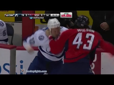 Brenden Morrow vs Tom Wilson